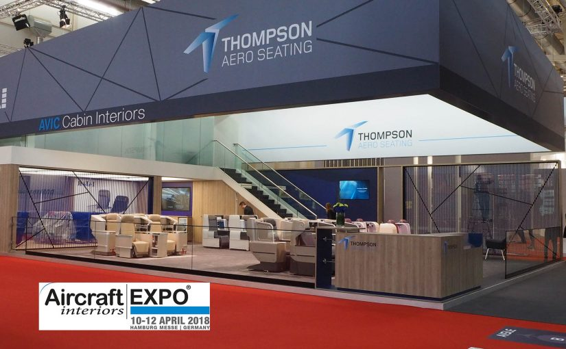 Another successful Aircraft Interiors Expo, 2018   Thompson Aero