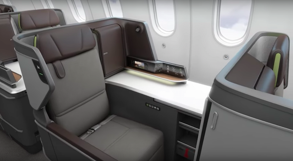 First Look At Eva Air S New Business Class Seats